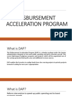 Disbursement Acceleration Program