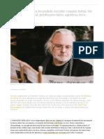 Jon Fosse_Sobre La Escritura