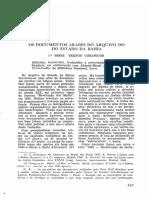 Os Documentos Arabes Do Arquivo Do Estado Da Bahia, 1 Série