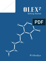 Olex2 - Getting Started