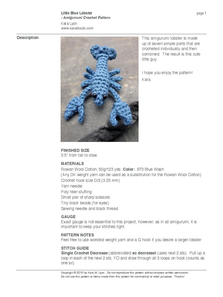 KARABOUTS: Little Blue Lobster | 1024x768