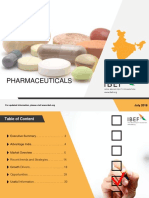 Pharmaceuticals Report July 2018