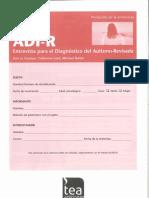 317689743 ADI R Entrevista Clinica