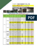 2019-5.4-Solar Products ,Solar System Pricelist-gamko