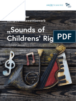 "Internationaler Kompositionswettbewerb ""Sounds of Children's Rights"