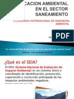 Exposición Estudios de EIA en El Sector Saneamiento (1)