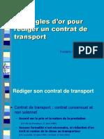 Les Clauses Et Conditions de Transport