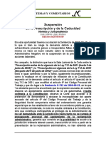 2019-03-19 Suspension de La Prescripcion