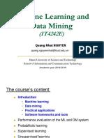 L1-Introduction ML DM