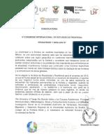 IV Congreso Estudios Frontera