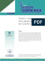 Gestión y Riesgos de La Deuda Pública de Costa Rica