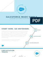 Guide From Salesforce for Each Certification