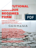 When institution becomes form