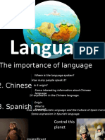 Presentation - Language