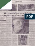 Hay pecados que deben avergonzar a los arequipeños (Pedro Luis Gonzáles Pastor)