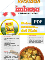 RECETARIO MAIZABROSA