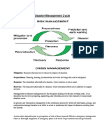 Edoc.site Disaster Management Cycle