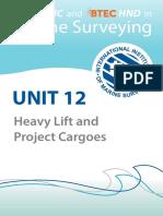 Unit 12-Heavy Lift & Project Cargoes