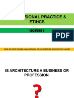 Architecture Profession in Pakistan