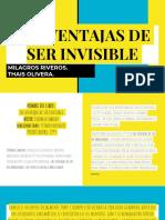 LAS VENTAJAS DE SER INVISIBLE.pptx