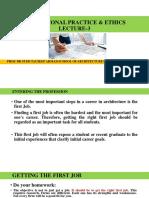 Professional Practice & Ethics