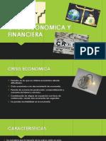 Crisis Económica y Financiera