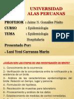 EPIDEMILOGIA HOSPITALARIA