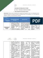 5.1.1 Tabla Comparativa de Documentos Rectores