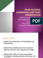 Food Plating, Garnishing and Food Presentation