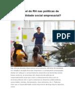 Qual o papel do RH nas politicas de responsabilidade social empresarial.docx