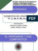 Clase 14-A Sem 11 Elementos Del Grupo i