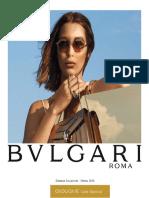 BULGARI EYEWEAR  2019