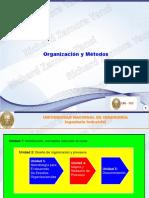 1 y 2. Diseño de Organización y Procesos - UNI-FIIS - ALUMNOS
