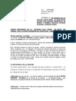 De Acuerdo Con La Opinión Fiscal Sobre La Sustitución de Pena Que Declara Procedente