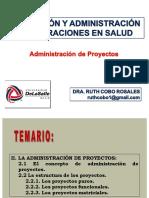 4a Sesión PyAOS Administración de Proyectos