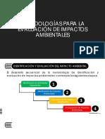 Metodología Para El Calculo de Las Matrices Ambientales