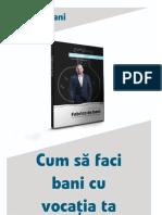 Pera Novacovici - Fa Bani Din Vocatia Ta
