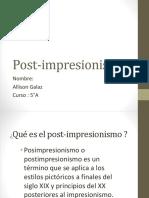Post Impresionismo
