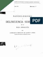 Bandolerismo Rural en El Bajo Cauca
