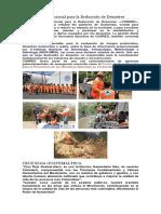 Instituciones Guatemaltecas Ante Un Desastre.
