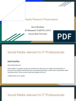 social media research presentation