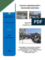 Modelo de Plan de Educacion Sanitaria - Susapaya Es