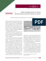 Análisis de fragmentación en colonias del perrito llanero mexicano