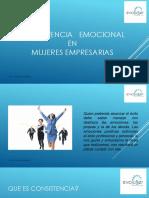 CONSISTENCIA   EMOCIONAL EN MUJERES EMPRESARIAS-- EvoluSer !! - copia.pptx