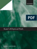 Amerik, Kant eliptical path