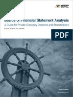 Article Financial Statement Analysis Basics 2019