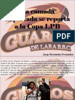 Jorge Hernández Fernández - La Camada Importada Se Reporta a La Copa LPB