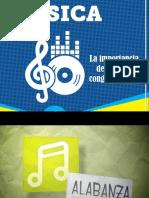Música - La importancia del Cántico congregacional