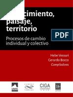 Conocimiento Paisaje Territorio UNRN UNPA CIGA CONICET