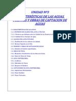 Unid3-Caracteristicas de Las Aguas, Fuentes y Obras de Captacion-2019